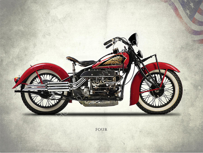 The Indian Four 1940