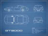 Toyota GT2000 Blueprint