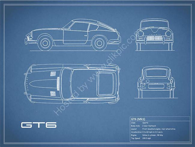Triumph GT6 Blueprint