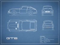 Triumph GT6 Blueprint