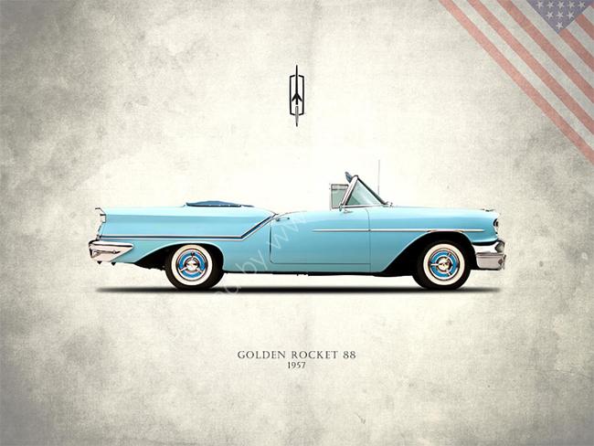 Oldsmobile Golden Rocket 88