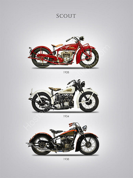 Indian Scout Trio