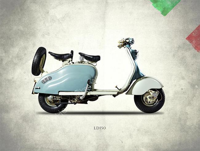 The Lambretta LD150