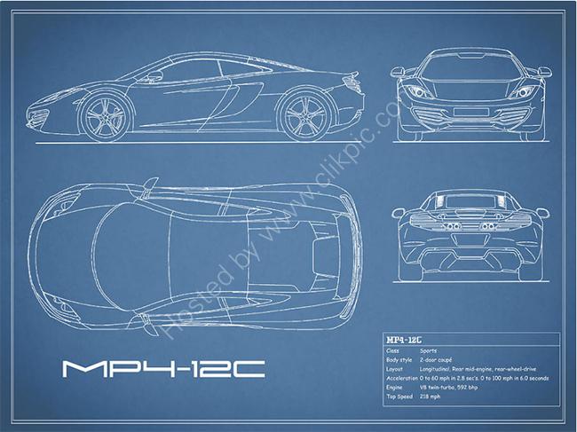 The MP4-12C Blueprint