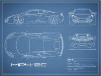 The MP4-12C Blueprint
