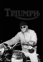 Steve McQueen Triumph