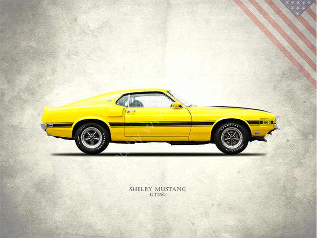 Shelby Mustang GT350 1969