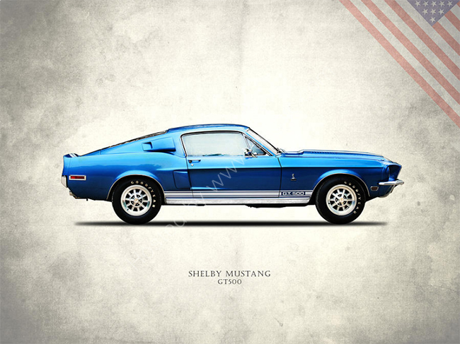 Shelby Mustang GT500 1968