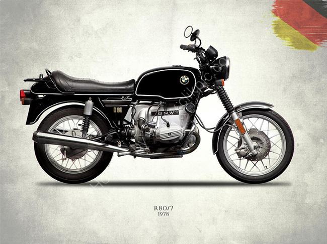 BMW R80/7 1978