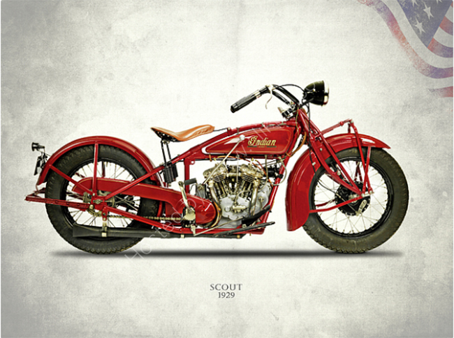 Indian Scout 1929