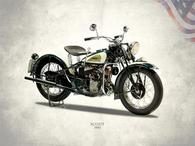 1941 Indian Scout 741