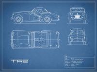 Triumph TR2 Blueprint