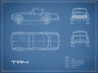 Triumph TR4 Blueprint