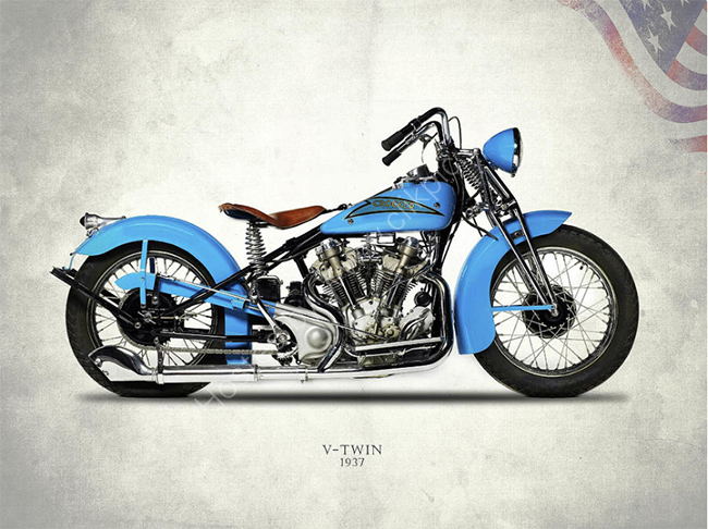 Crocker Hem-head V-twin