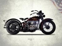 Harley-Davidson Model V 1930