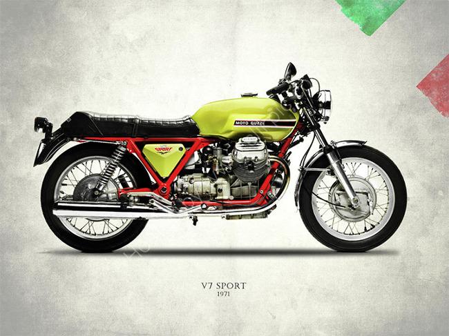 Moto Guzzi V7 1971