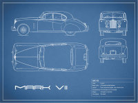 Jaguar Mk VII Blueprint