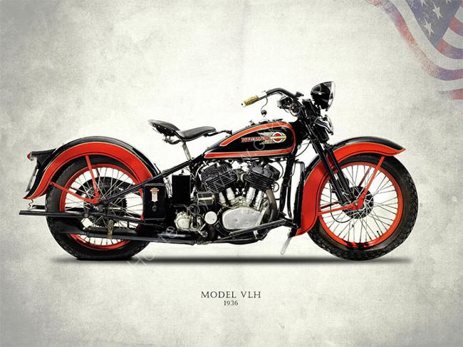 Harley-Davidson VLH 1936