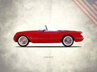 The Chevrolet Corvette 1954