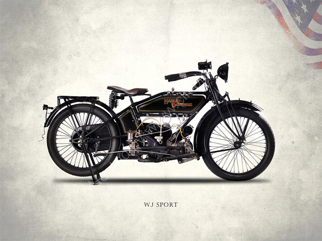The Harley WJ Sport 1921