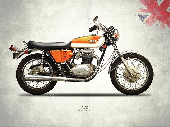 BSA A70 Lightning 1971