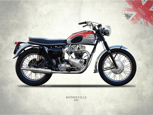 Bonneville T120 1962