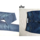 Jeans to shorts