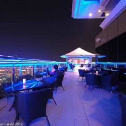 The Level 43 Bar on the roof of the Sheraton Dubai