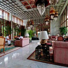 Lobby of the Oriental Hotel