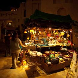 Stall at the Souk Madinet