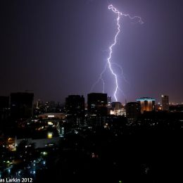 Lightning Strike  Bangkok