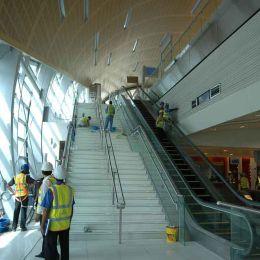 Stairways to the Train Platform