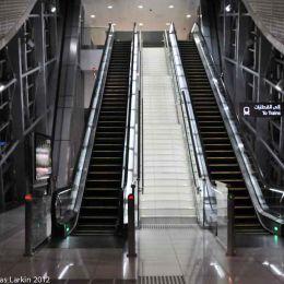 Entrance and Escalator Financial Station entry pod