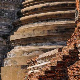 Temple Ruins at Wat Prasisangpetch
