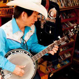 Bluegrass Banjo Player