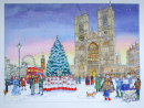 Westminster Abbey Christmas Card