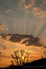 Sunset over Applecross