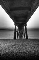Deal Pier Monochrome