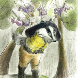 Badger for story by Kai 1