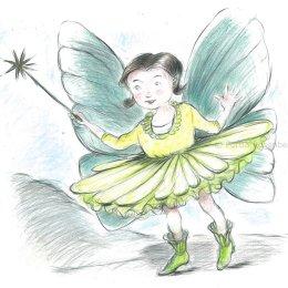 Fairy sketch 1