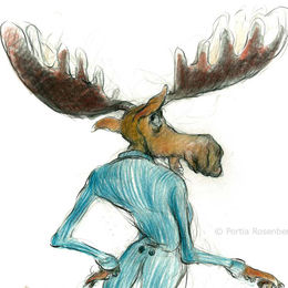 Moose character 2