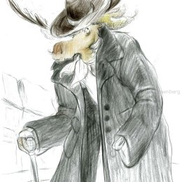 Moose character 3