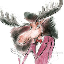 Moose character 8