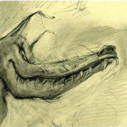 Wolf sketch 1