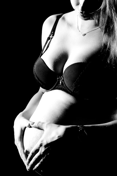 Maternity Silhouette.