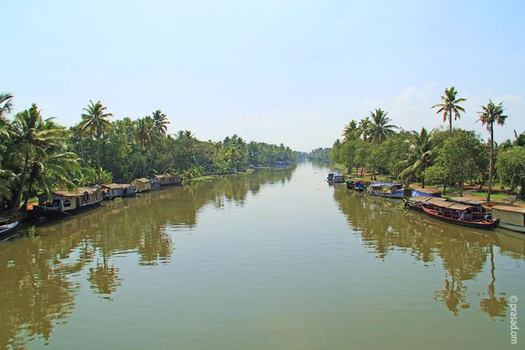 Backwaters,Kumarakom