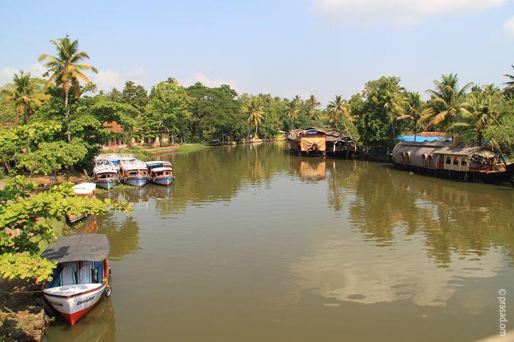 Backwaters, Kumarakom.