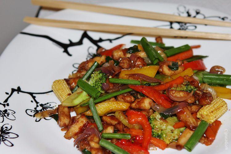 Chinese Stir Fried Chicken