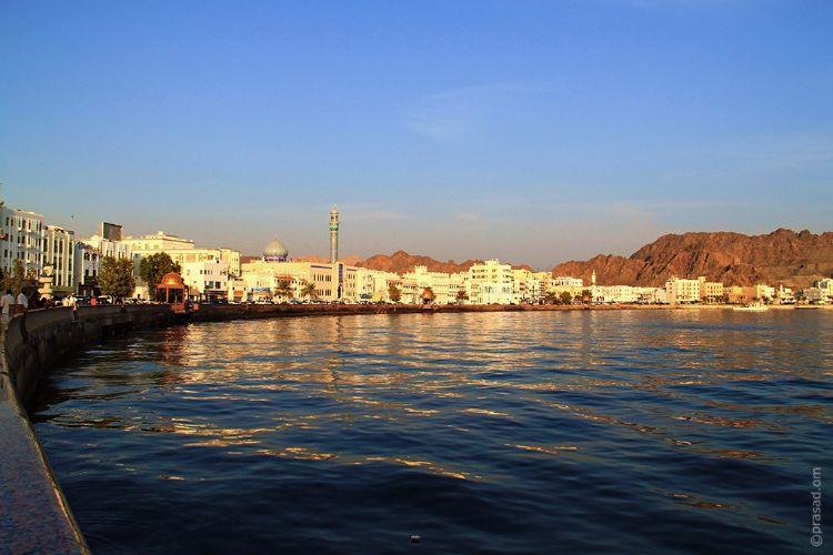 View of Muttrah Corniche