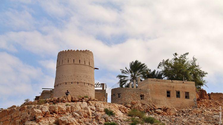 Watch Tower Wadi Shab